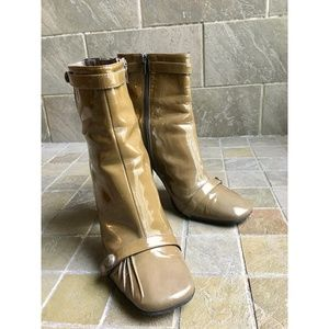 Boutique Nordstrom Patent Leather Boots